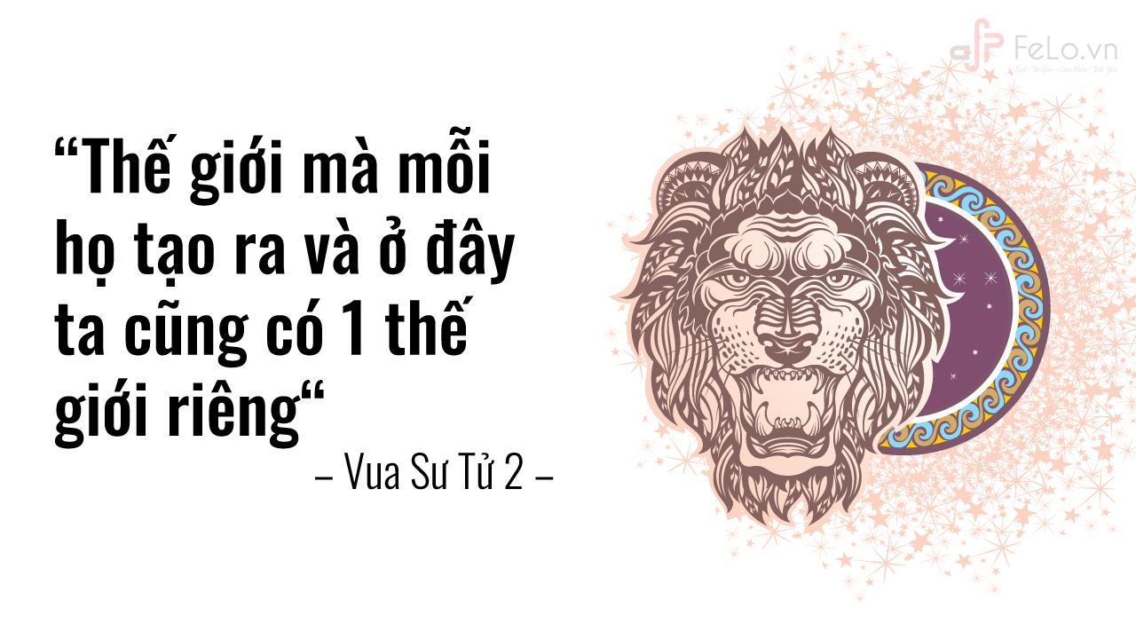 Sư Tử làm chủ cuộc sống của mình
