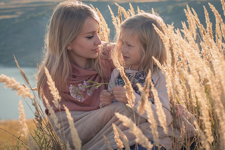 Thần Nông nữ lặng lẽ yêu thương gia đình