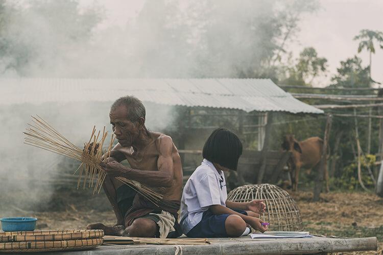 gia đình của Ma Kết mang không khí truyền thống