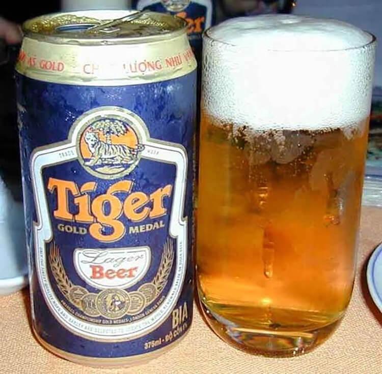 làm sáng bạc bằng bia