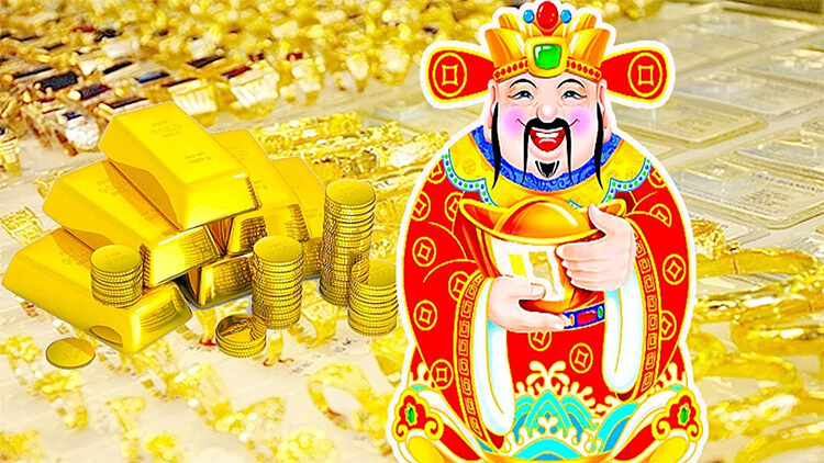 mua vàng ngày thần tài