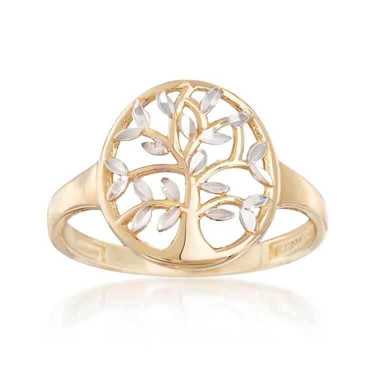 Nhẫn tay biểu tượng cây sự sống