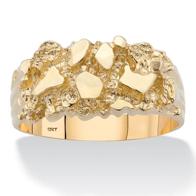 Nhẫn vàng 10k cho nam