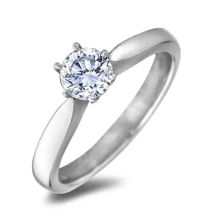 Vàng trắng 14k đính kim cương